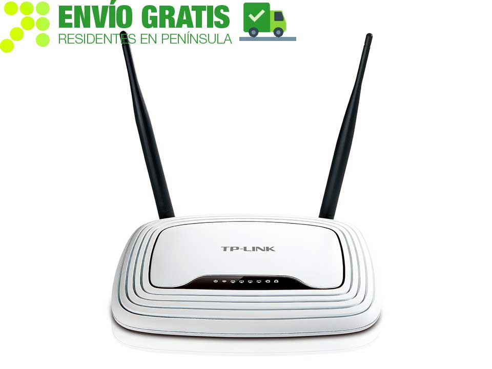 TP-LINK TL-WR841N Router inalámbrico N a 300 Mbps