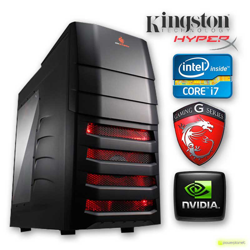 PC GAMING Intel I7-4770K 3.5GHz/16GB/2 TB/120SDD/GTX 770 OC 2GB DDR5