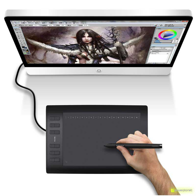 Tablet Digitalizador Huion 1060 Pro + - Item2