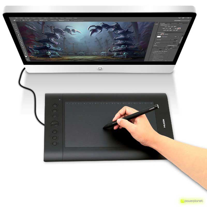 Tablet Digitalizador Huion H610 PRO - Item1