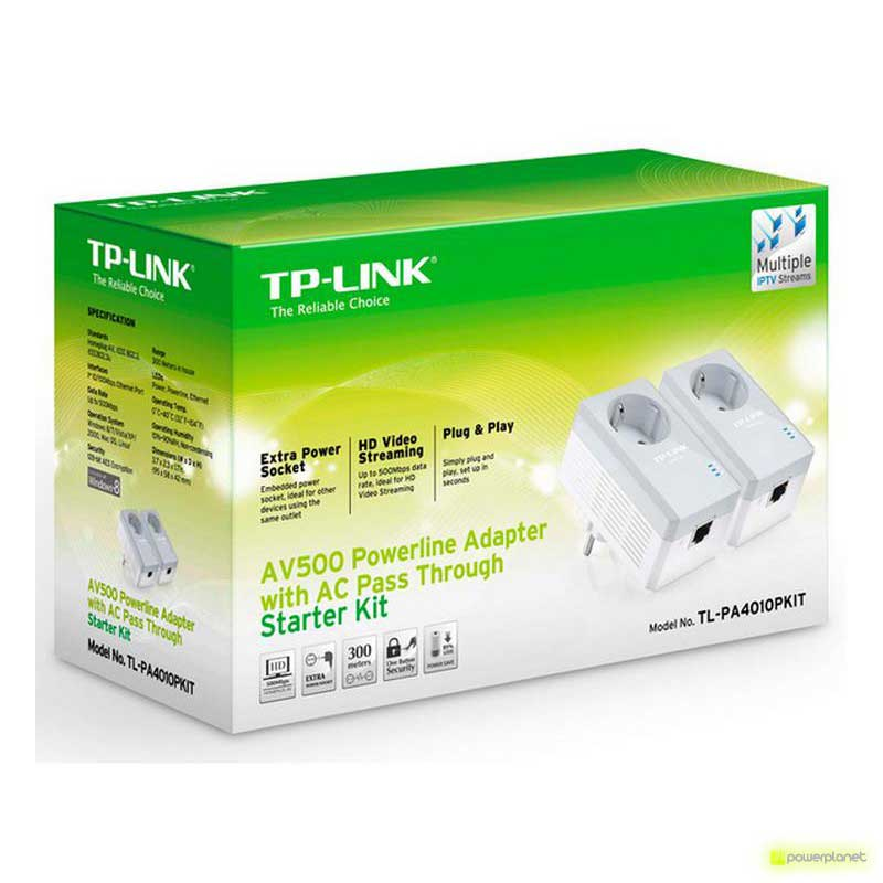 TP-Link TL-PA4010PKIT Starter Kit AV500 Powerline adapters with integrated plug - Item2