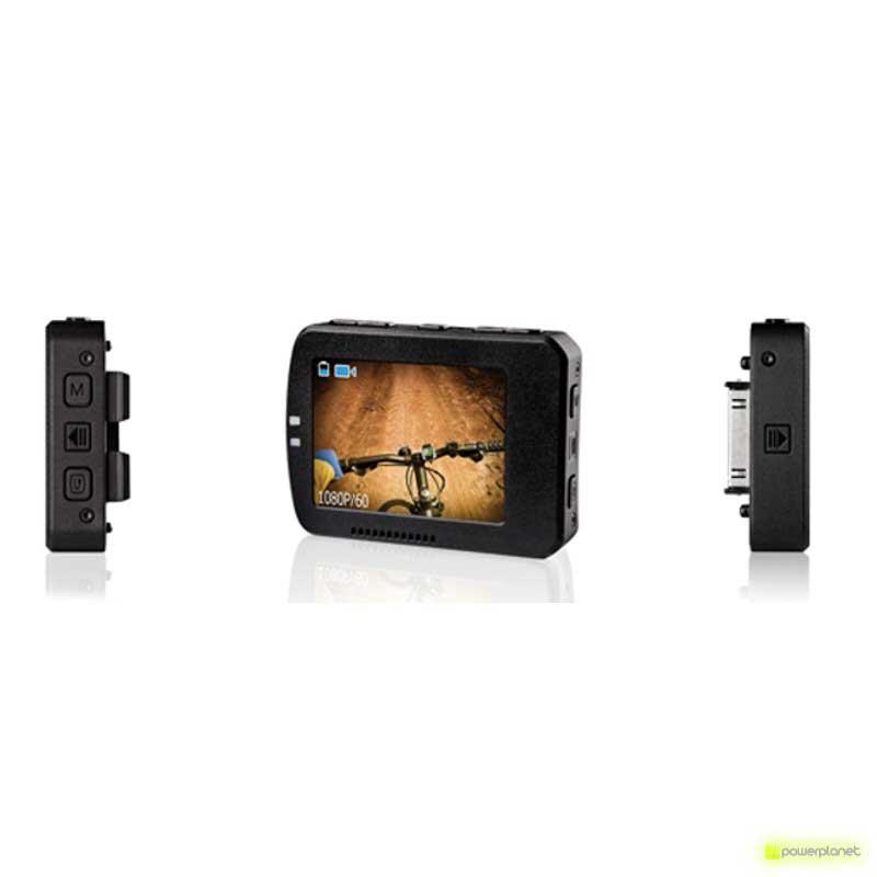 pantalla lcd cámara veho muvi, pantalla para cámara muvi k-series, pantalla lcd videocámara muvi k-series
