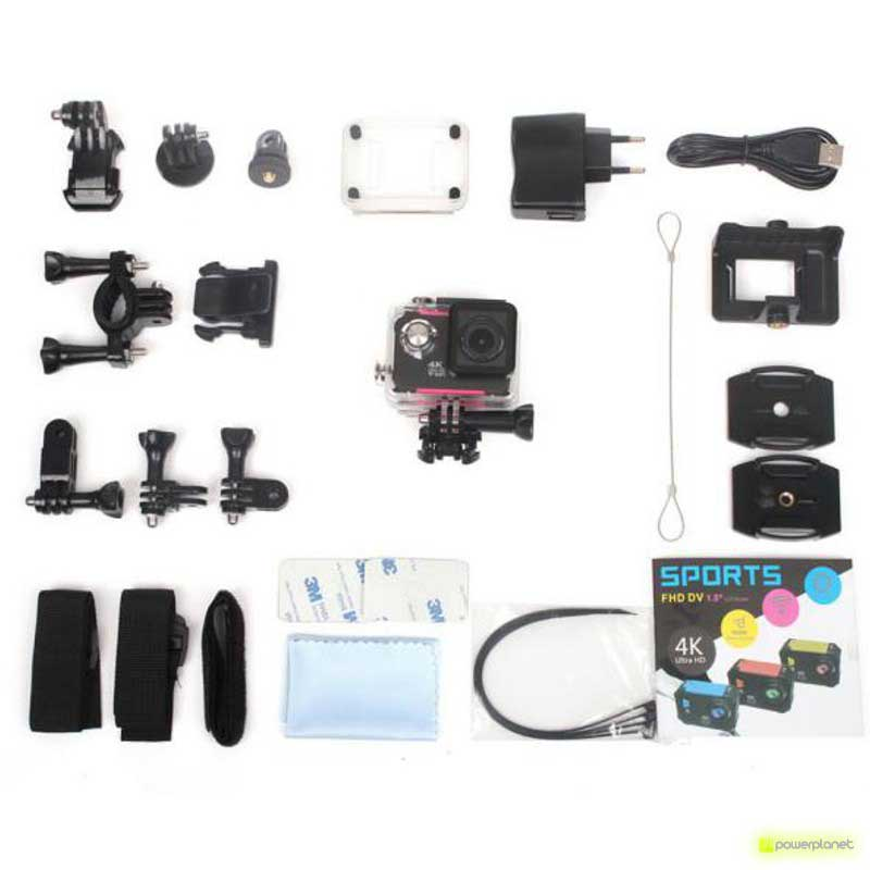 Video Cámara Deportiva X9000 - Ítem8