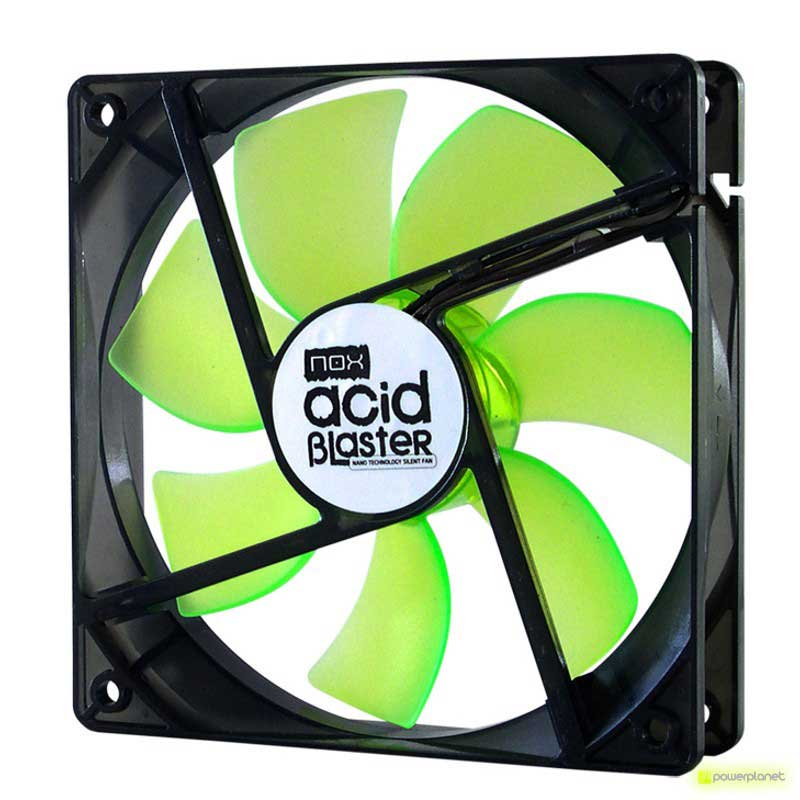 Ventilador caja NOX Acid Blaster120mm Rev.2 - Item