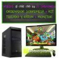 ORDENADOR SOBREMESA INTEL PENTIUM G1820 2.7GHz/4GB RAM/500 HDD