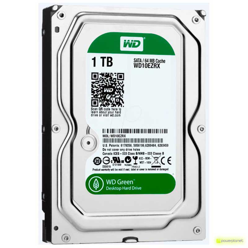 Disco Rigido WD AV-GP 1TB SATA3 3.5 - Item