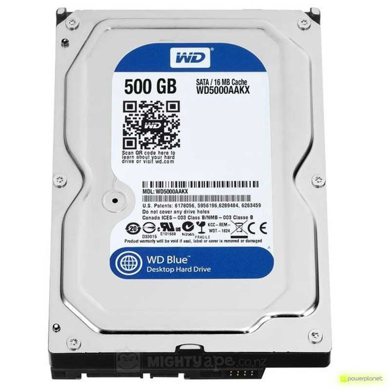 DISCO RIGIDO WD BLUE 500GB SATA3 2,5