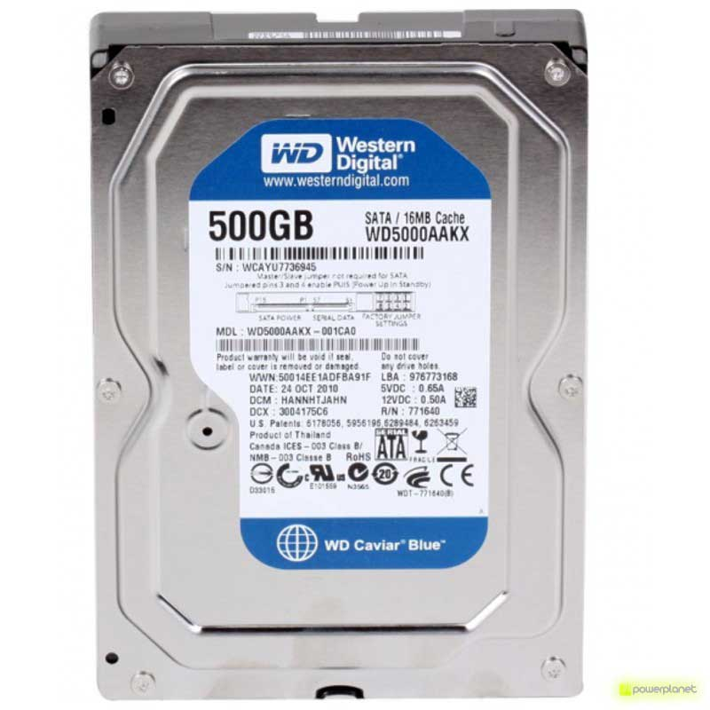 Disco Rigido WD Caviar Blue 500GB SATA3 3.5