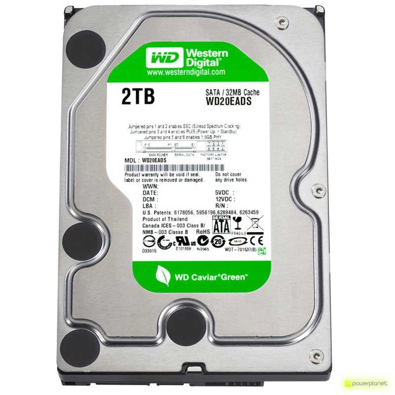 DISCO RIGIDO WD CAVIAR GREEN 2TB SATA3 3.5