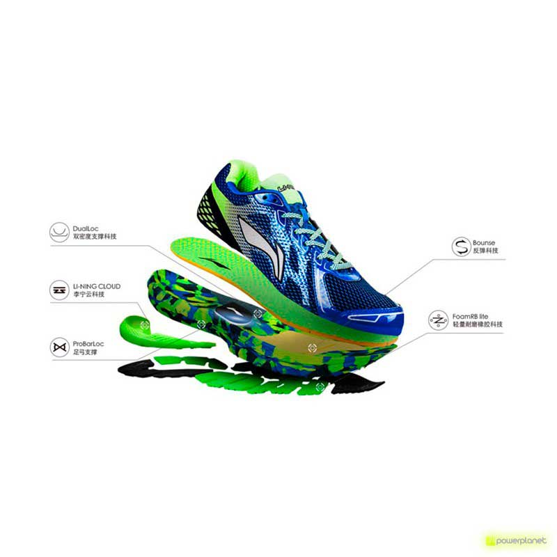 Xiaomi Li-Ning Inteligentes Shoes Verde - Item5