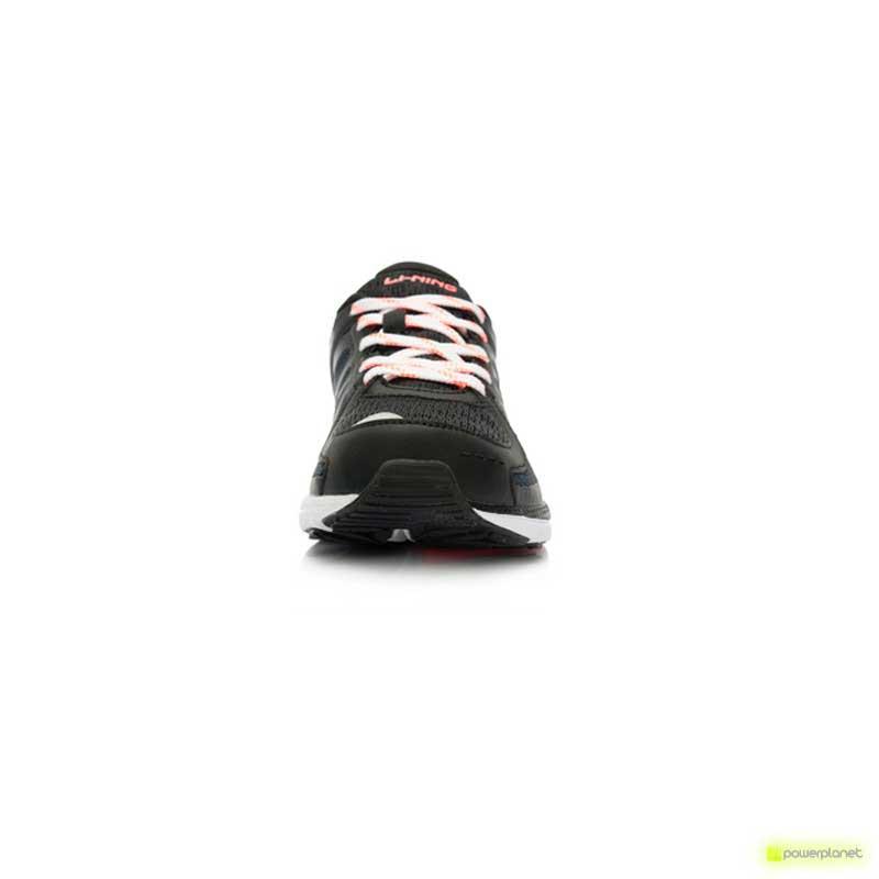 Xiaomi Li-Ning Inteligentes Shoes Preto / Laranaja Suave - Item2