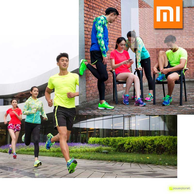 Xiaomi Li-Ning Inteligentes Shoes Verde - Item9