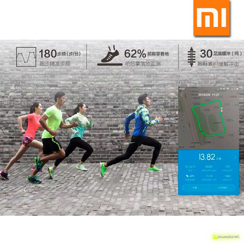 Xiaomi Li-Ning Inteligentes Shoes Verde - Item10