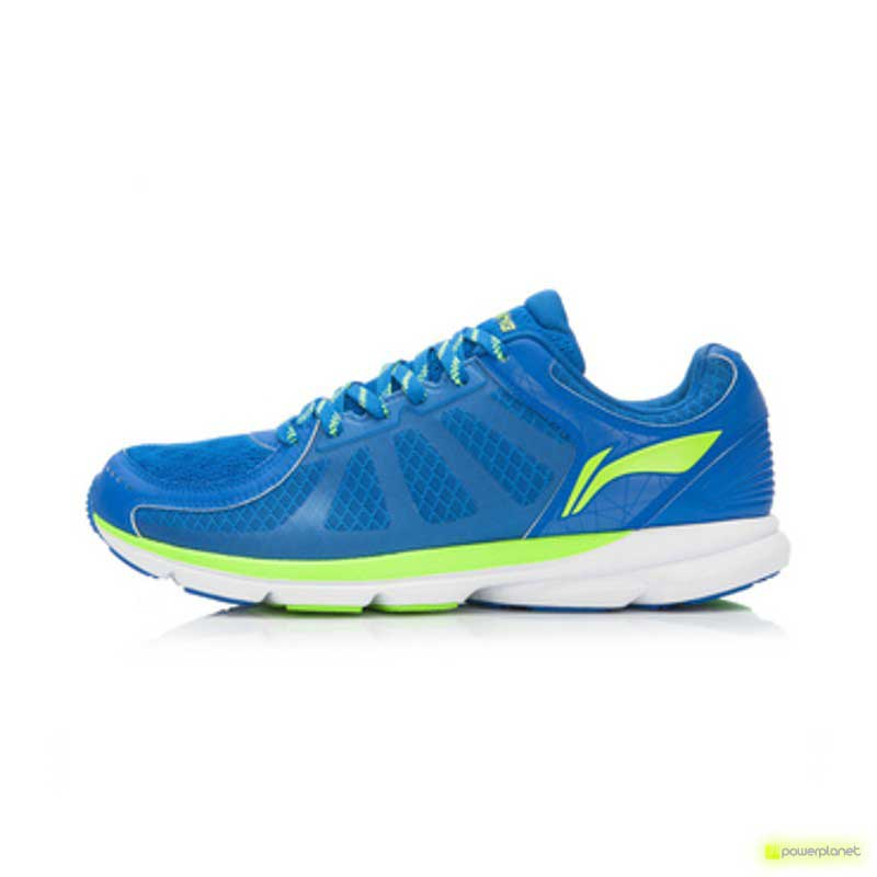 Xiaomi Li-Ning Inteligentes Shoes Azul Cristal / New Green - Item