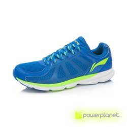 Xiaomi Li-Ning Inteligentes Shoes Azul Cristal / New Green - Item1