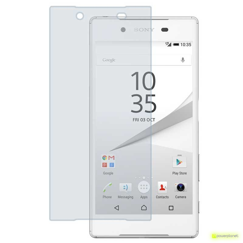 Protector Cristal Templado Sony Xperia Z5