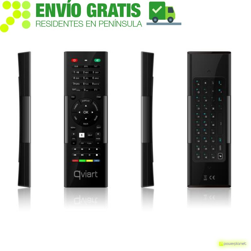 QVIART Controle QWERTY Dual Face