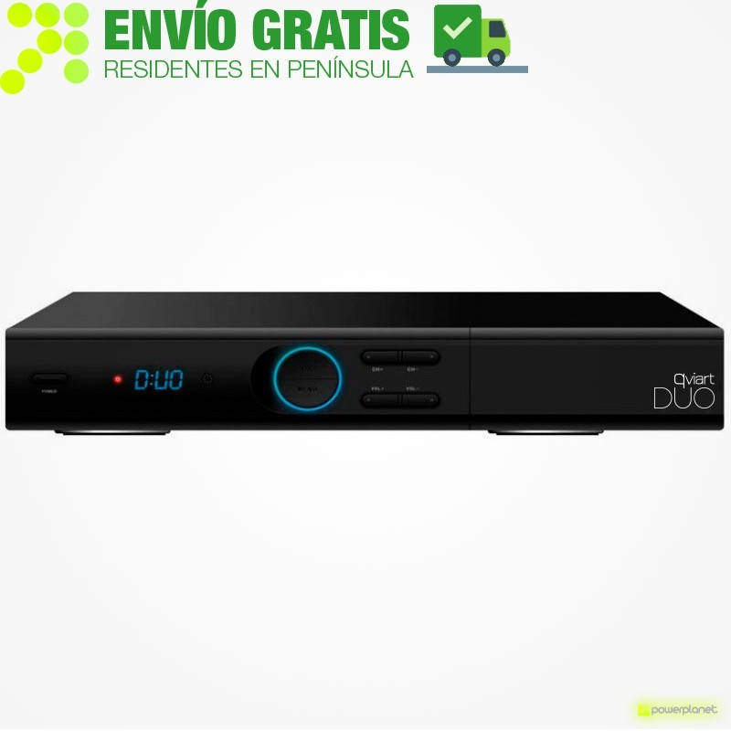 QVIART Receptor Satelite Duo Doble
