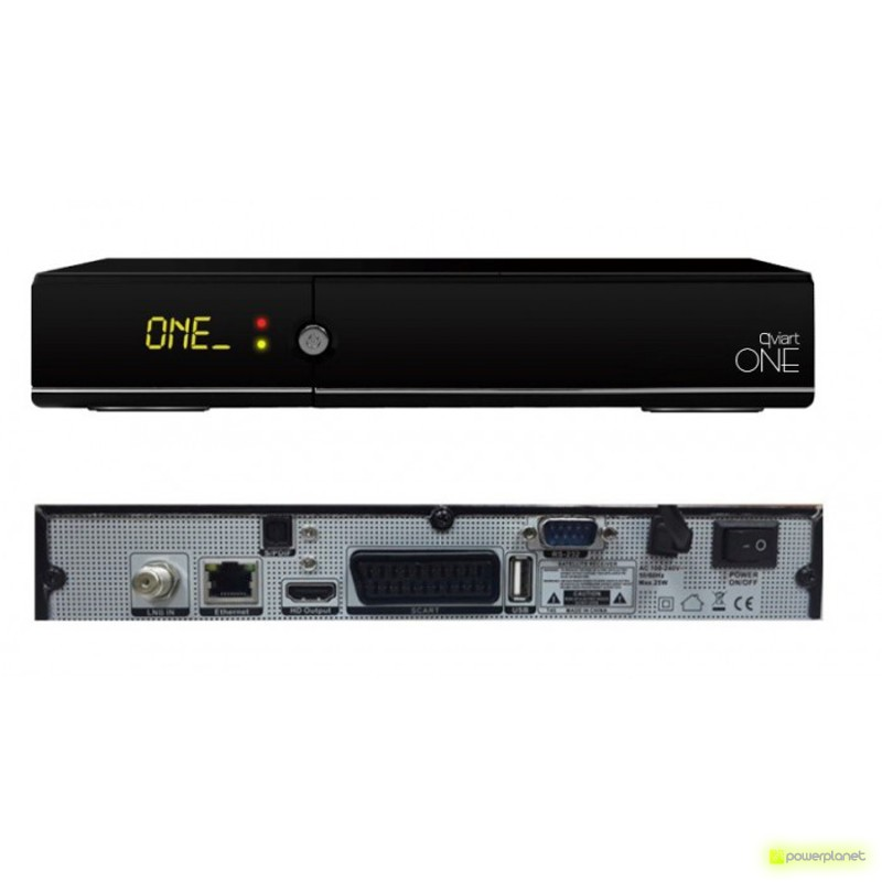 QVIART Receptor Satelite IPTV One - Item1