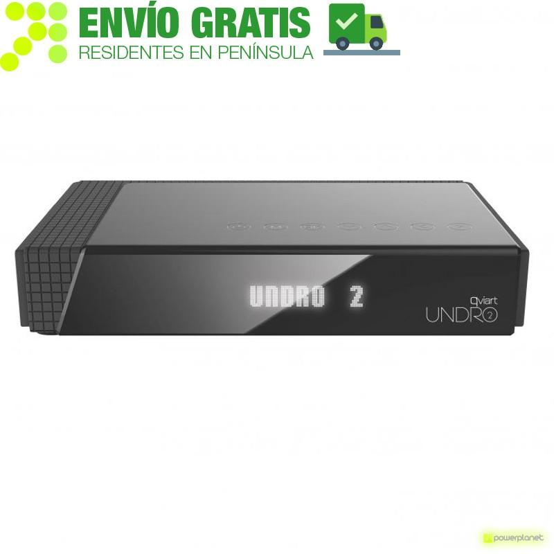 QVIART Receptor Satélite UNDRO 2 IPTV IKS