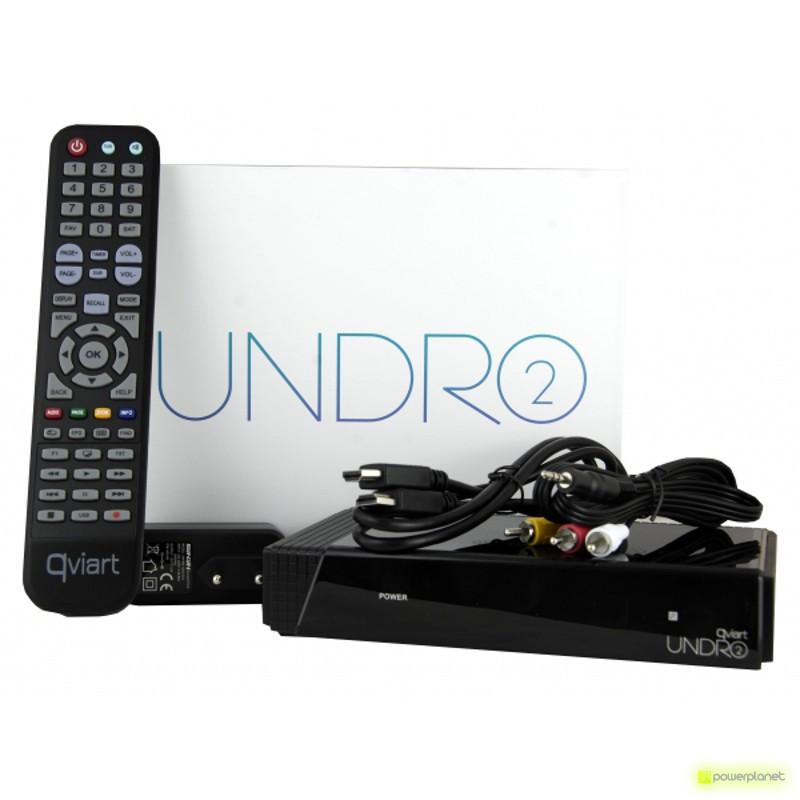 QVIART Receptor Satélite UNDRO 2 IPTV IKS - Ítem3