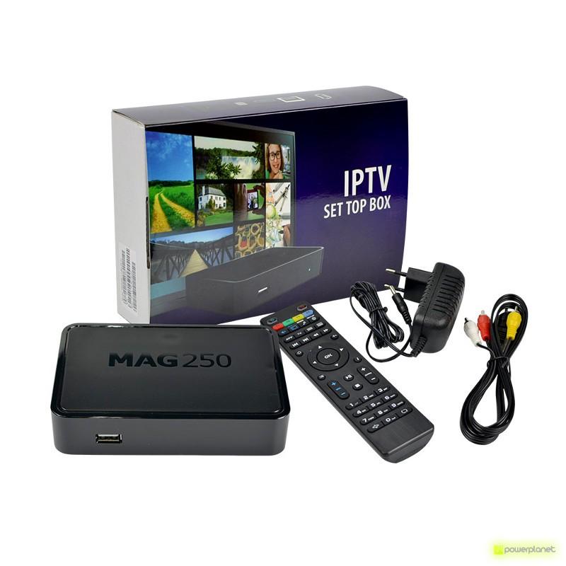 Receptor Satélite MAG250 IPTV TV BOX - Item1