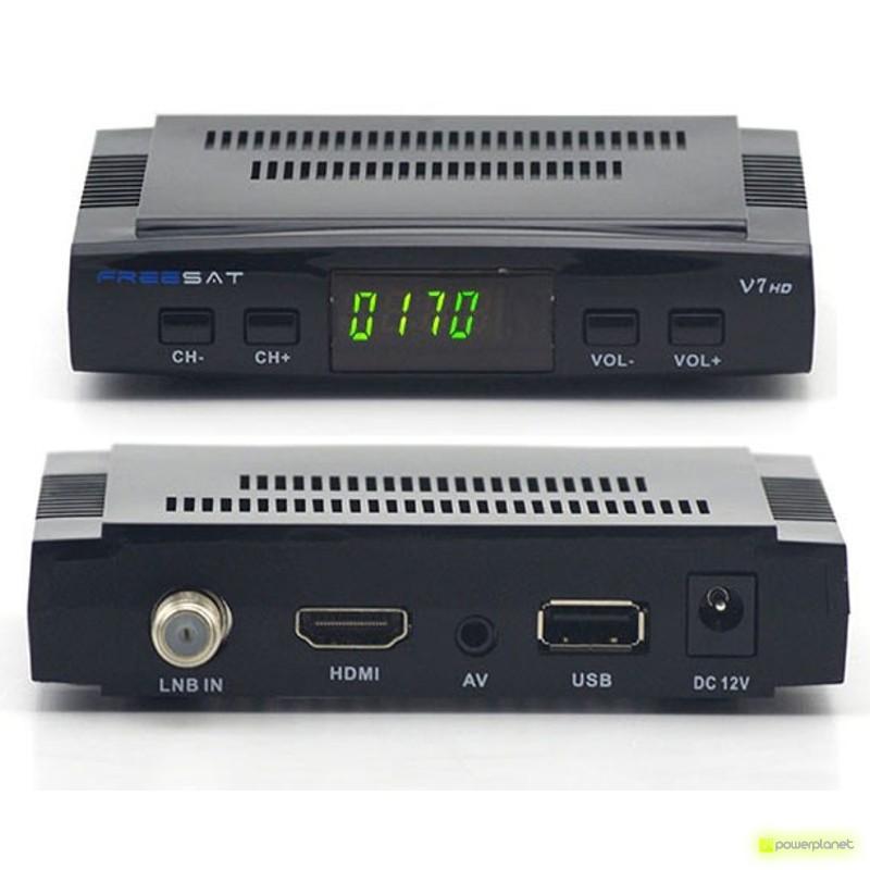 Receptor satélite Freesat V7 HD