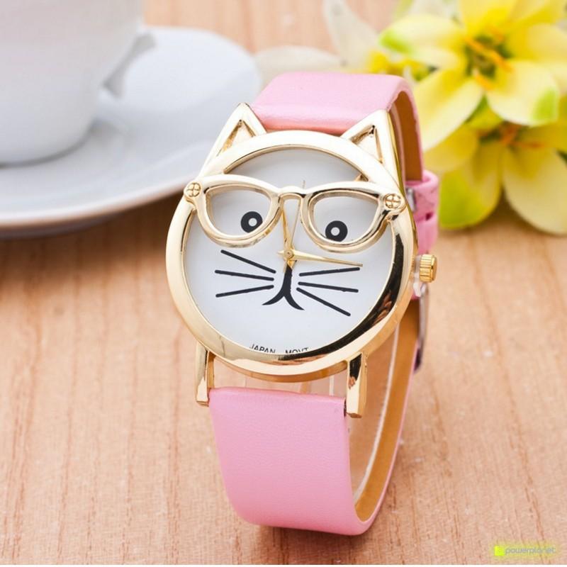 Reloj Hipster Cat - Ítem1