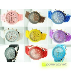 Reloj Silicona Colores - Ítem1