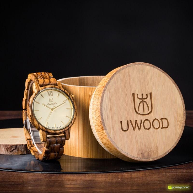 Reloj de Madera Uwood UW-1002-M - Ítem5