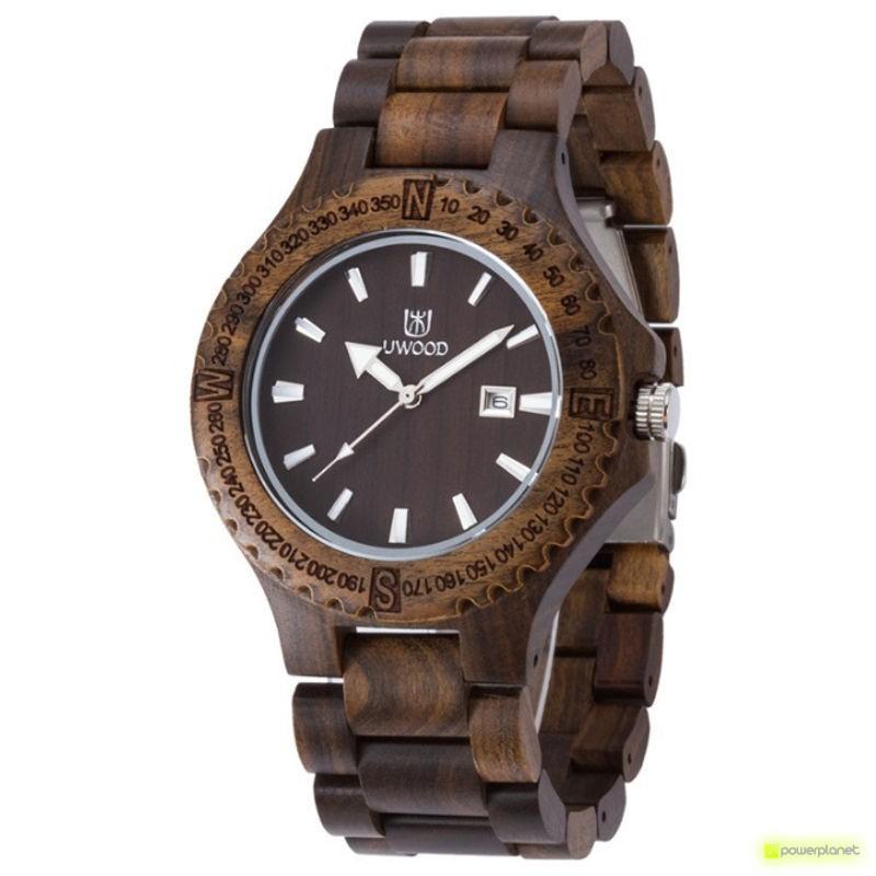 Reloj de Madera Uwood UW-1005-M