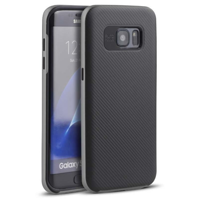 Capa de silicone Samsung Galaxy S6 Edge Ipaky - Item2