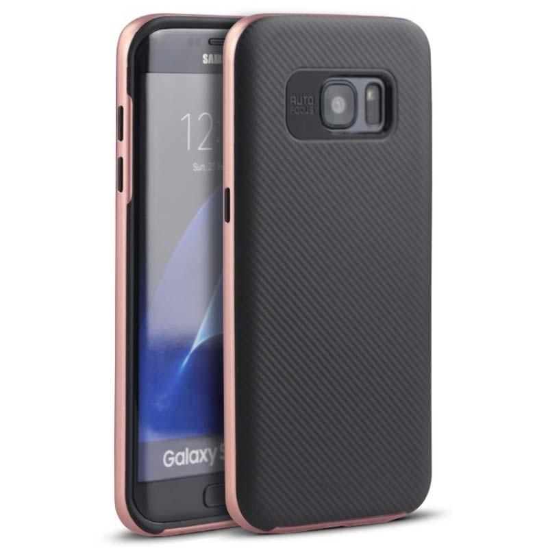 Capa de silicone Samsung Galaxy S6 Edge Ipaky - Item3