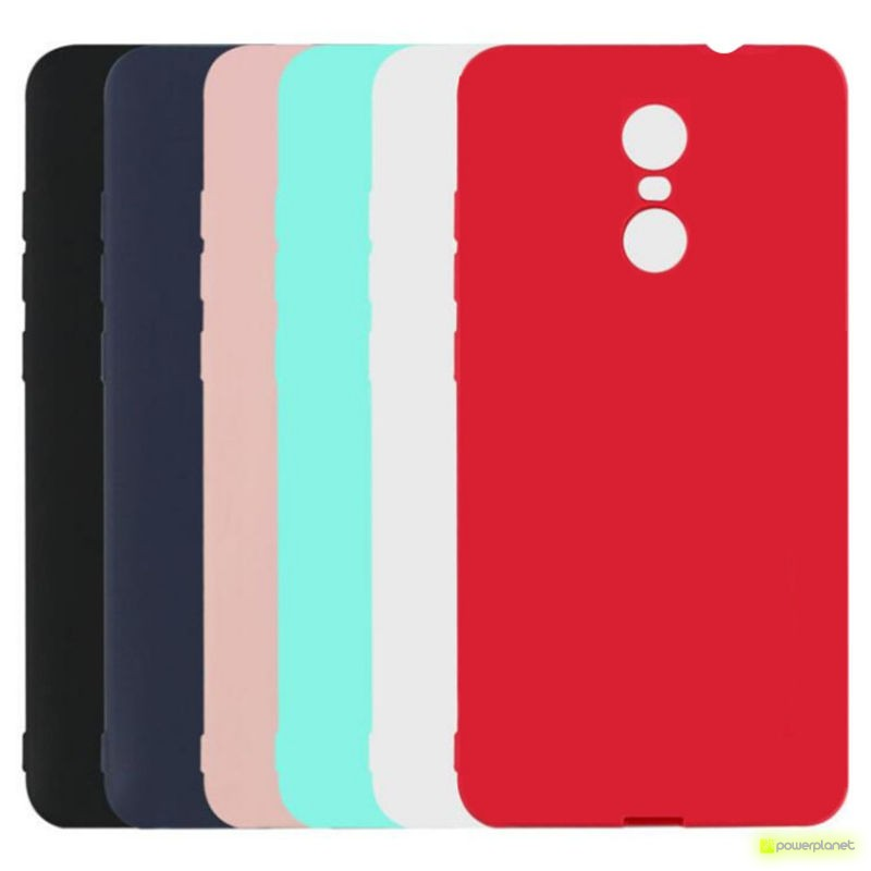 Funda de silicona para Xiaomi Redmi Note 4