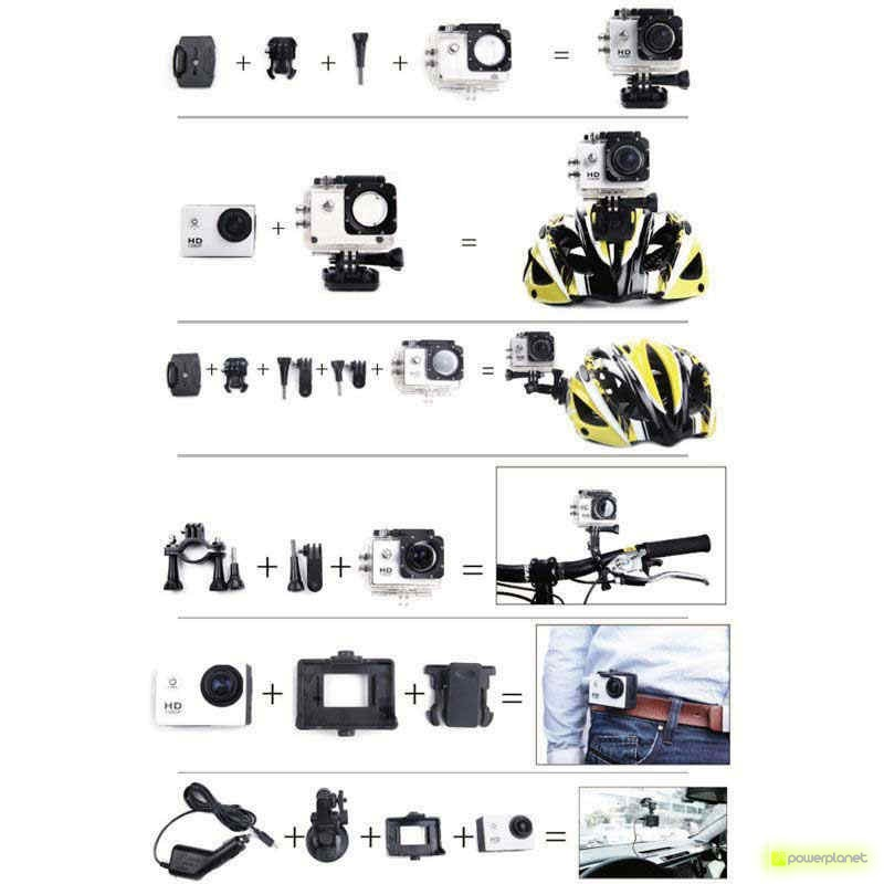 Action Cam SJCAM SJ4000+ Plus 2K - Item9