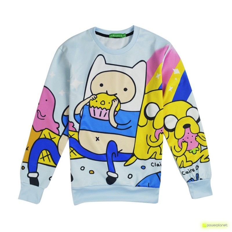 Suéter Finn the human and Jake the dog - Item