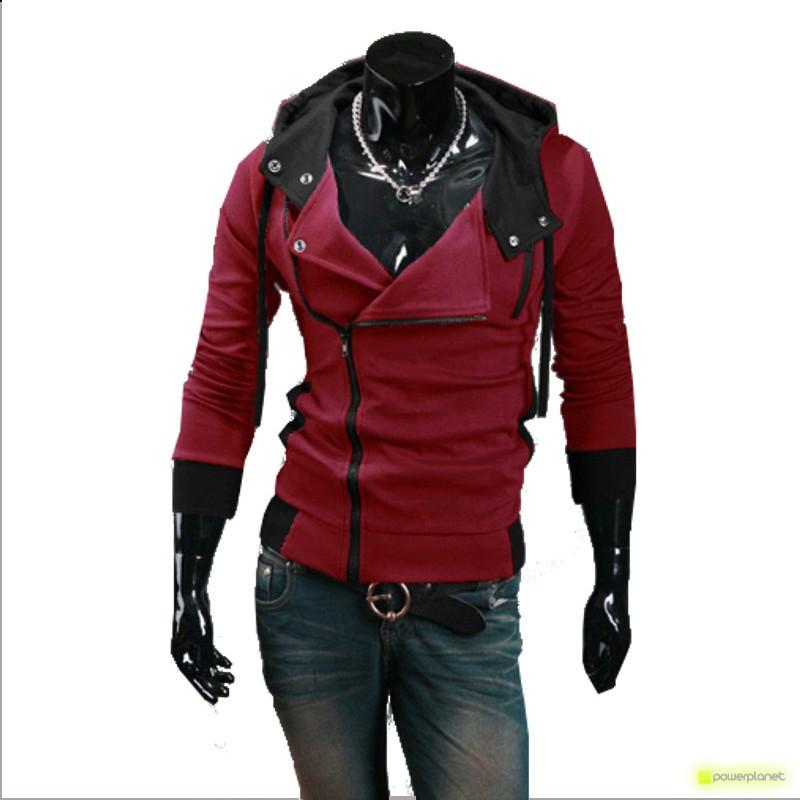 Sudadera Modern Zipper Rojo - Hombre