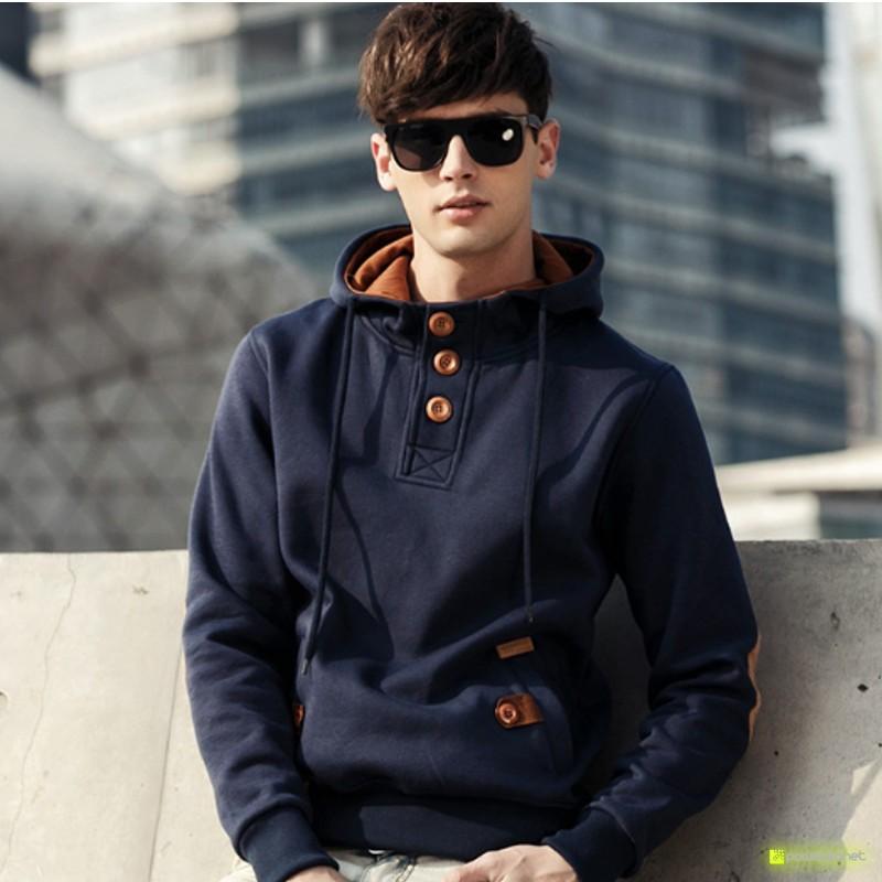 Suéter Modern Azul - Homen