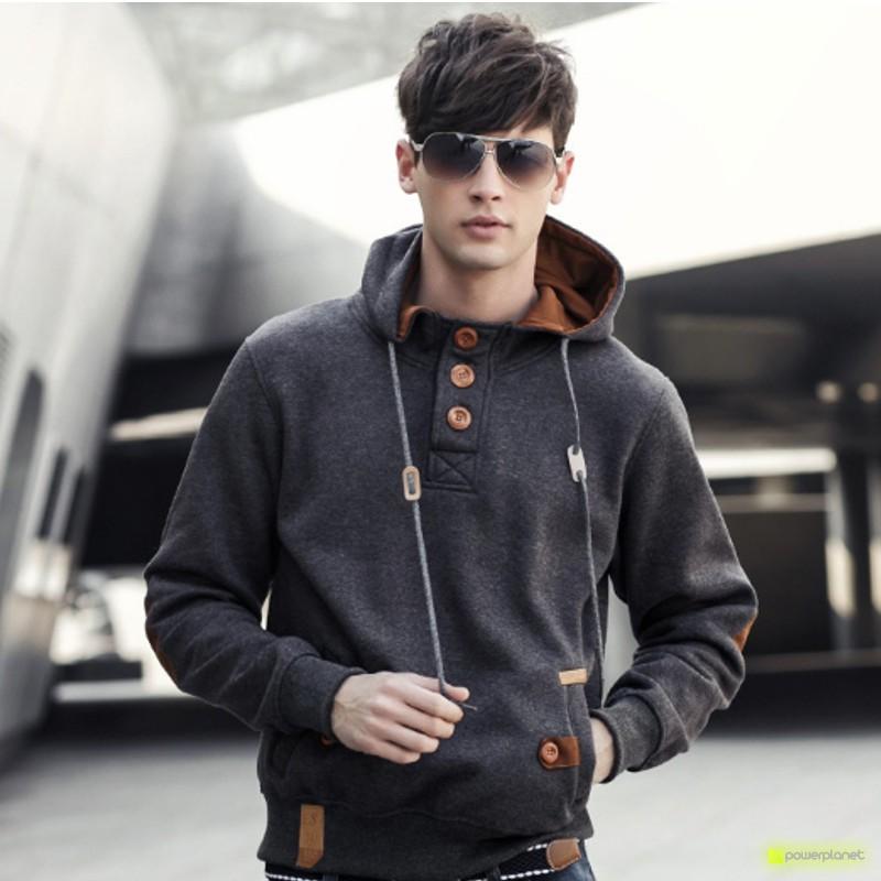 Suéter Modern Cinza - Homen