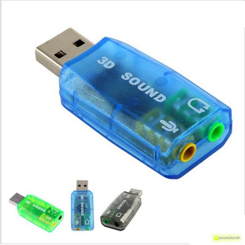 Tarjeta de sonido USB DM-HD01 - Ítem1