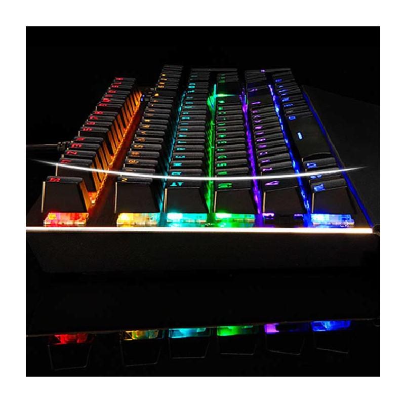 Teclado Color Mecánico MotoSpeed CK108RGB/K92 - Ítem4