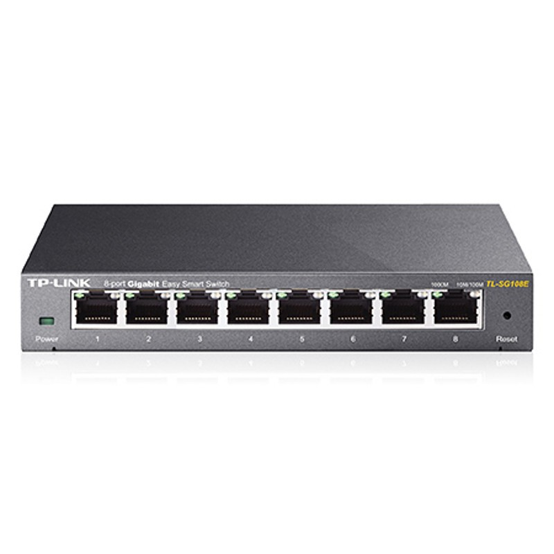 TP-LINK TL-SG108E Switch Easy Smart de 8 puertos Gigabit
