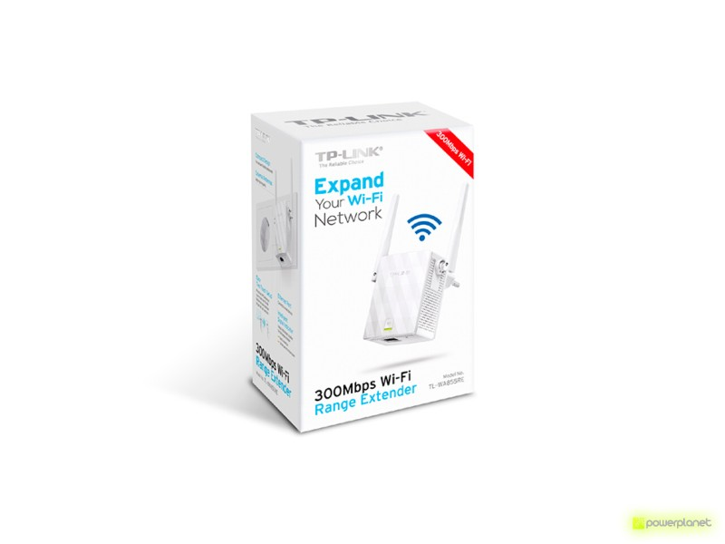 TP-LINK TL-WA855RE Coverage Extender Wi-Fi 300Mbps - Item1