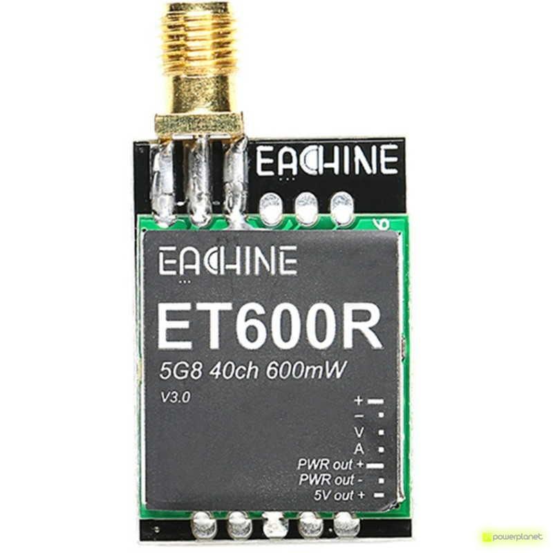 Transmisor FPV Eachine ET600R con Raceband - Ítem1