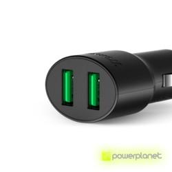 Tronsmart CC2F Carregador de Carro USB Quick Charge 2.0 y VoltIQ de 2 Portas - Item3