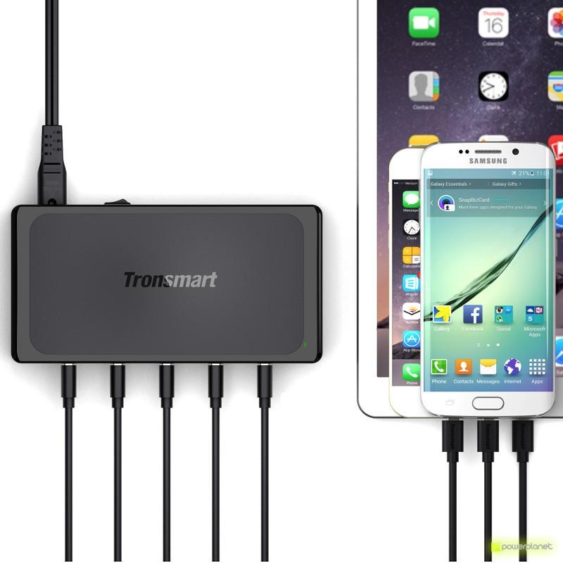 Tronsmart UC5F USB Quick Charge y VoltIQ 2.0 de 5 Portas - Item3