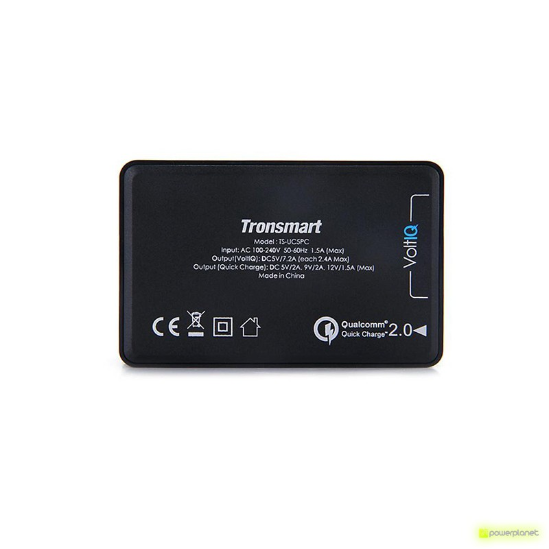 Tronsmart UC5PC USB Quick Charge 2.0 de 5 Puertos - Ítem1