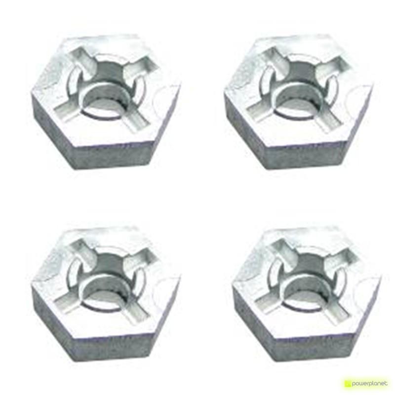 Tuercas hexagonales para rueda Feiyue FY