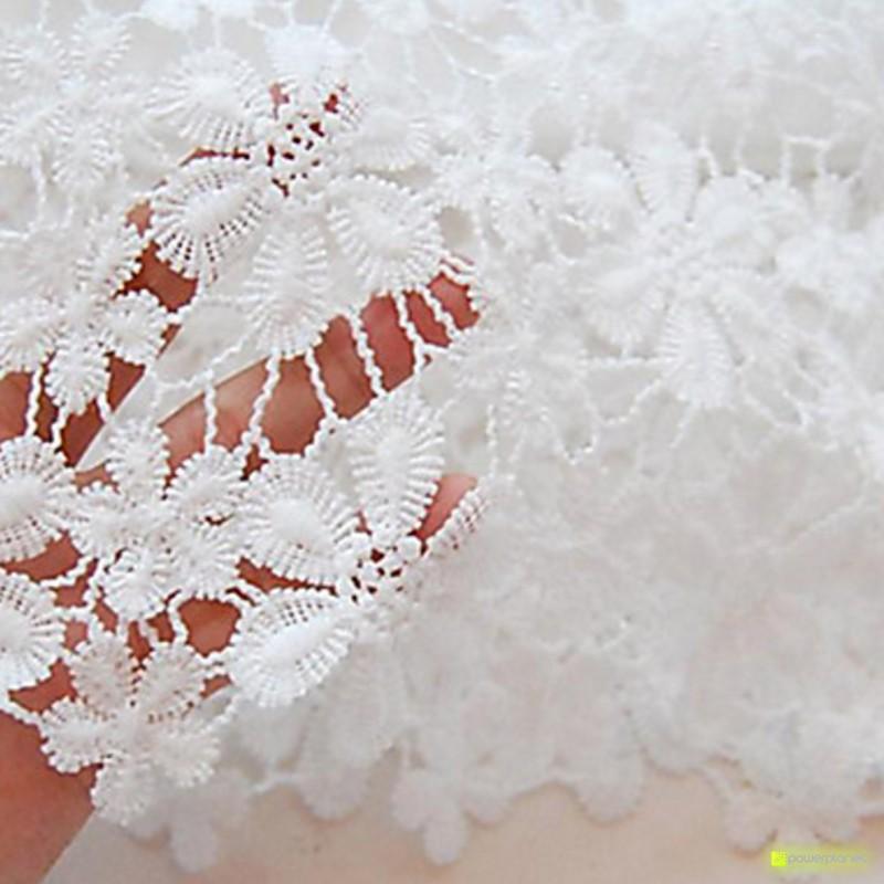 Vestido de renda sem mangas branco - Mulher - Item2