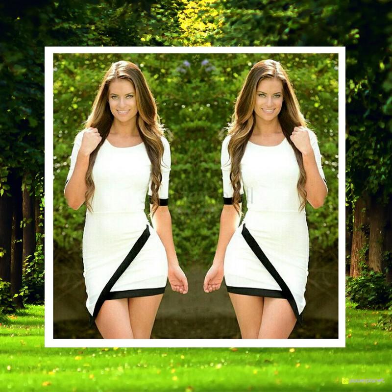Vestido de túnica preta - Mulher - Item3